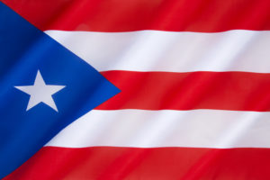 Flag of Puerto Rico | © Steve Allen | Dreamstime Stock Photos